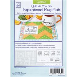 Uplifting Mug Mats - Quilt As You Go