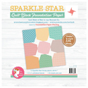 """Additional Images for Sparkle Star Quilt Block Foundation Paper - 12"""""""