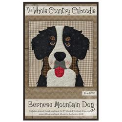 Bernese Mountain Dog Precut Fused Appliqué Kit
