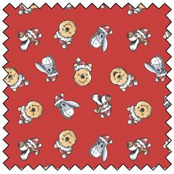 """Winnie the Pooh Santa Hat Toss - RED - 44"""" x 13.7 M"""