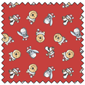 """Additional Images for Winnie the Pooh Santa Hat Toss - RED - 44"""" x 13.7 M"""