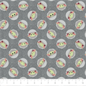 """Additional Images for Child Toss on Denim - GREY  -  44"""" x 13.7 M"""