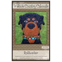 Rottweiler Precut Fused Appliqué Kit