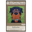 Additional Images for Rottweiler Precut Fused Appliqué Kit