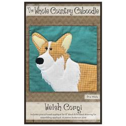 Welsh Corgi Precut Fused Appliqué Kit