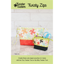 Twisty Zips Pattern