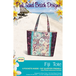 Fiji Tote Bag Pattern