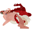 Additional Images for Valentine Gnome Precut Fused Appliqué Kit