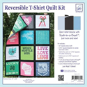 Additional Images for Reversible T-Shirts Quilt Kit -- BLACK