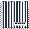 "Stripes - INDIGO - 44"" x 13.7 M"