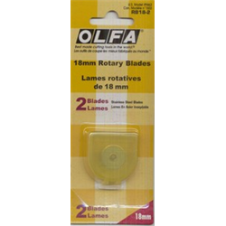 18mm Rotary Blade - 2  PACK