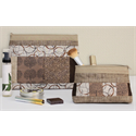 Additional Images for Zippity-Do-Done Cosmetic Bag - CAMEL ZIPPER