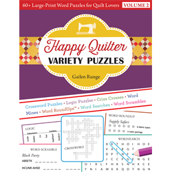 Happy Quilter Variety Puzzles - Volume 2+