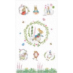 "Peter Rabbit Panel - 44"" x 10 PANEL"