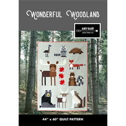 Wonderful Woodland Quilt  Pattern