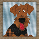 Additional Images for Airedale Precut Fused Appliqué Kit
