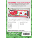 Additional Images for Slice of Summer Watermelon - Bench Pillow Machine Embroidery CD