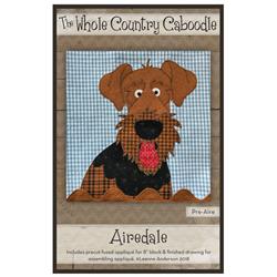 Airedale Precut Fused Appliqué Kit
