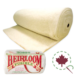 "Heirloom Premium 80/20 Batting - FUSIBLE - 96"" x 30 YDS"