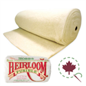 "Heirloom Premium 80/20 Batting - FUSIBLE - 96"" x 15 YDS"