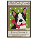 Additional Images for Boston Terrier Precut Fused Appliqué Kit