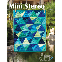 Mini Stereo Quilt Pattern