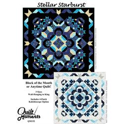 Stellar Starburst Pattern