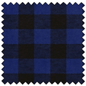 "Additional Images for Lumberjack Flannel - BLUE/BLACK - 60"" x 15 M"