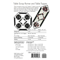 Additional Images for Table Scrap Runner & Table Topper Pattern
