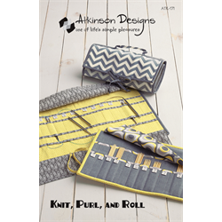 Knit, Purl, and Roll Pattern