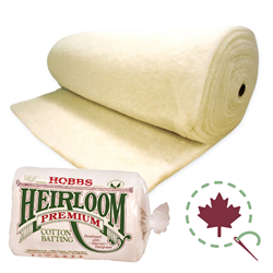 "Heirloom Premium 80/20 Batting  - 96"" x 15 YDS***"