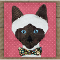 Additional Images for Siamese Precut Fused Appliqué Kit