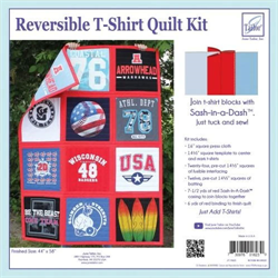 Reversible T-Shirts Quilt Kit -- RED