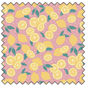 "Additional Images for Lemons - PINK - 44"" x 13.7 M"