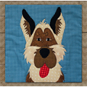 Additional Images for German Shepherd Precut Fused Appliqué Kit
