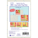 Additional Images for Log Cabin Mug Mats - Quilt As You Go