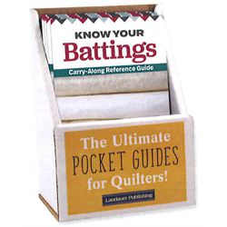 Know Your Battings Guide Display with 6 Books
