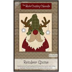 Reindeer Gnome Precut Fused Appliqué Kit