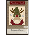 Additional Images for Reindeer Gnome Precut Fused Appliqué Kit