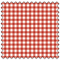 "Additional Images for Gingham - CRIMSON - 44"" x 7.32 M"