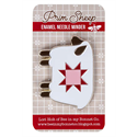 Additional Images for Prim Sheep Enamel Needle Minder