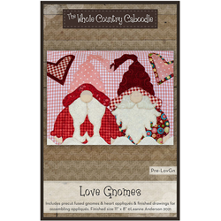 Love Gnome Precut Fused Appliqué Kit