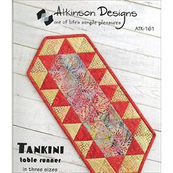 Tankini Table Runner Pattern