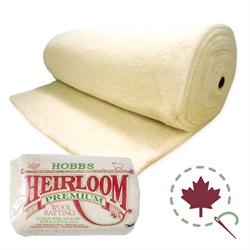 "Heirloom Wool  Roll - 108"" x 25 YDS"