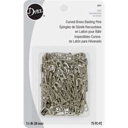 Curved Basting Pins - SIZE 2