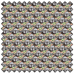 """Manadalorian Stickers - MULTI  -  44"""" x 13.7 M"""