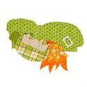 Additional Images for Irish Gnome Precut Fused Appliqué Kit
