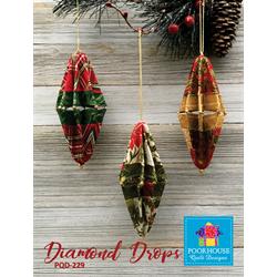 Diamond Drops Pattern
