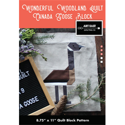 Wonderful Woodland Quilt - CANADA GOOSE BLOCK