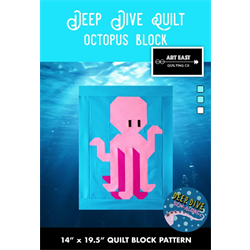 Deep Dive Quilt - #1 OCTOPUS BLOCK